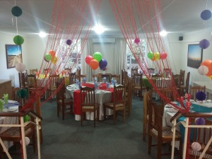 Safari-Restaurant-made-up-for-staff-party